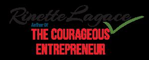 Rinette Lagace; Author logo 2020